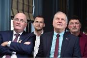 13 February 2019; Former Kilkenny hurler Jackie Tyrrell, left, and former Dublin footballer Kieran Duff in attendance at the Laochra Gael Launch at the Dean Hotel in Dublin. Photo by Matt Browne/Sportsfile