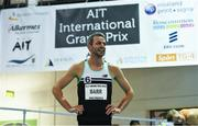13 February 2019; Thomas Barr of Ireland after the Ericsson Men's 400m during the AIT International Grand Prix 2019 at the Athlone Institute of Technology in Westmeath. Photo by Brendan Moran/Sportsfile