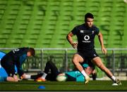 15 February 2019; Conor Murray during an Ireland rugby open training session at the Aviva Stadium in Dublin. Photo by Seb Daly/Sportsfile
