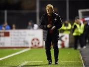 15 February 2019; Sligo Rovers manager Liam Buckley during the SSE Airtricity League Premier Division match between Dundalk and Sligo Rovers at Oriel Park in Dundalk, Louth. Photo by Ben McShane/Sportsfile