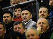 15 February 2019; Republic of Ireland assistant coach Robbie Keane during the SSE Airtricity League Premier Division match between Bohemians and Finn Harps at Dalymount Park in Dublin. Photo by Tom Beary/Sportsfile
