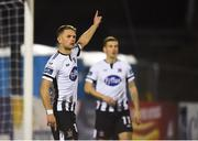 15 February 2019; Dane Massey of Dundalk during the SSE Airtricity League Premier Division match between Dundalk and Sligo Rovers at Oriel Park in Dundalk, Louth. Photo by Ben McShane/Sportsfile