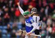 16 February 2019; Joe Stack of Midleton CBS celebrates scoring his side's second goal during the Harty Cup Final match between CBC Cork and Midleton CBS at Páirc Uí Rinn in Cork. Photo by Piaras Ó Mídheach/Sportsfile