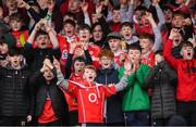 16 February 2019; Midleton CBS supporters during the Harty Cup Final match between CBC Cork and Midleton CBS at Páirc Uí Rinn in Cork. Photo by Piaras Ó Mídheach/Sportsfile