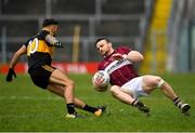 16 February 2019; Dónal McElligott of Mullinalaghta St Columba's in action against Micheál Burns of Dr Crokes during the AIB GAA Football All-Ireland Senior Club Championship Semi-Final match between Mullinalaghta St Columba's and Dr Crokes at Semple Stadium in Thurles, Tipperary. Photo by Seb Daly/Sportsfile