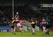 16 February 2019; Johnny Buckley of Dr Crokes in action against John Keegan of Mullinalaghta St Columba's during the AIB GAA Football All-Ireland Senior Club Championship Semi-Final match between Mullinalaghta St Columba's and Dr Crokes at Semple Stadium in Thurles, Tipperary. Photo by Seb Daly/Sportsfile