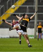 16 February 2019; Francis Mulligan of Mullinalaghta St Columba's in action against Brian Looney of Dr Crokes during the AIB GAA Football All-Ireland Senior Club Championship Semi-Final match between Mullinalaghta St Columba's and Dr Crokes at Semple Stadium in Thurles, Tipperary. Photo by Seb Daly/Sportsfile