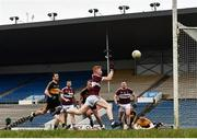 16 February 2019; Jayson Matthews of Mullinalaghta St Columba's scores his side's second goal of the game during the AIB GAA Football All-Ireland Senior Club Championship Semi-Final match between Mullinalaghta St Columba's and Dr Crokes at Semple Stadium in Thurles, Tipperary. Photo by Seb Daly/Sportsfile