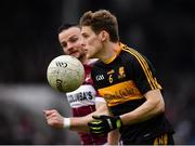 16 February 2019; Gavin White of Dr Crokes in action against Dónal McElligott of Mullinalaghta St Columba's during the AIB GAA Football All-Ireland Senior Club Championship Semi-Final match between Mullinalaghta St Columba's and Dr Crokes at Semple Stadium in Thurles, Tipperary. Photo by Seb Daly/Sportsfile