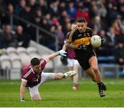 16 February 2019; Micheál Burns of Dr Crokes in action against Shane Mulligan of Mullinalaghta St Columba's during the AIB GAA Football All-Ireland Senior Club Championship Semi-Final match between Mullinalaghta St Columba's and Dr Crokes at Semple Stadium in Thurles, Tipperary. Photo by Seb Daly/Sportsfile