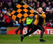 16 February 2019; A Dr Crokes supporter celebrates following her side's victory during the AIB GAA Football All-Ireland Senior Club Championship Semi-Final match between Mullinalaghta St Columba's and Dr Crokes at Semple Stadium in Thurles, Tipperary. Photo by Seb Daly/Sportsfile