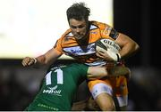 16 February 2019; Nico Lee of Toyota Cheetahs is tackled by Stephen Fitzgerald of Connacht during the Guinness PRO14 Round 15 match between Connacht and Toyota Cheetahs at The Sportsground in Galway. Photo by Harry Murphy/Sportsfile