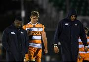 16 February 2019; Toyota Cheetahs players including Walt Steenkamp, centre, following the Guinness PRO14 Round 15 match between Connacht and Toyota Cheetahs at The Sportsground in Galway. Photo by Harry Murphy/Sportsfile
