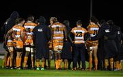 16 February 2019; Toyota Cheetahs players huddle following the Guinness PRO14 Round 15 match between Connacht and Toyota Cheetahs at The Sportsground in Galway. Photo by Harry Murphy/Sportsfile