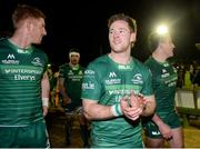 16 February 2019; Kieran Marmion of Connacht applauds to supporters following the Guinness PRO14 Round 15 match between Connacht and Toyota Cheetahs at The Sportsground in Galway. Photo by Harry Murphy/Sportsfile