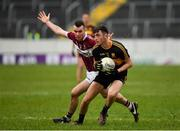 16 February 2019; David Shaw of Dr Crokes in action against David McGivney of Mullinalaghta St Columba's during the AIB GAA Football All-Ireland Senior Club Championship Semi-Final match between Mullinalaghta St Columba's and Dr Crokes at Semple Stadium in Thurles, Tipperary. Photo by Seb Daly/Sportsfile