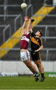 16 February 2019; David McGivney of Mullinalaghta St Columba's in action against Gavin White of Dr Crokes during the AIB GAA Football All-Ireland Senior Club Championship Semi-Final match between Mullinalaghta St Columba's and Dr Crokes at Semple Stadium in Thurles, Tipperary. Photo by Seb Daly/Sportsfile