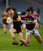 16 February 2019; Michael Potts of Dr Crokes in action against Simon Cadam of Mullinalaghta St Columba's during the AIB GAA Football All-Ireland Senior Club Championship Semi-Final match between Mullinalaghta St Columba's and Dr Crokes at Semple Stadium in Thurles, Tipperary. Photo by Seb Daly/Sportsfile