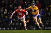 16 February 2019; Daniel Kearney of Cork in action against David McInerney of Clare during the Allianz Hurling League Division 1A Round 3 match between Cork and Clare at Páirc Uí Rinn in Cork. Photo by Piaras Ó Mídheach/Sportsfile