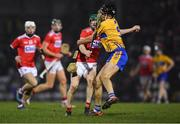16 February 2019; Séamus Harnedy of Cork in action against Cathal Malone of Clare during the Allianz Hurling League Division 1A Round 3 match between Cork and Clare at Páirc Uí Rinn in Cork. Photo by Piaras Ó Mídheach/Sportsfile