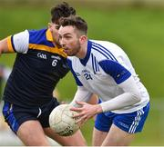 16 February 2019; Daniel Brennan of Letterkenny IT in action against Conor Doherty of Dundalk IT during the Electric Ireland HE GAA Trench Cup Final match between Letterkenny Institute of Technology and Dundalk Institute of Technology at Mallow GAA in Mallow, Cork. Photo by Matt Browne/Sportsfile