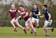 16 February 2019; Stephen McGullion of Liverpool Hope University in action against IT Tallaght during the Electric Ireland HE GAA Corn na Mac Leinn Final match between Liverpool Hope University and Institute of Technology Tallaght Tallaght at Mallow GAA in Mallow, Cork. Photo by Matt Browne/Sportsfile
