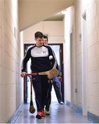 17 February 2019; Wexford goalkeeper Eanna Martin on his way into the team dressing room before the Allianz Hurling League Division 1A Round 3 match between Wexford and Tipperary at Innovate Wexford Park in Wexford. Photo by Matt Browne/Sportsfile