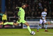 15 February 2019; Alan Mannus of Shamrock Rovers during the SSE Airtricity League Premier Division match between Waterford and Shamrock Rovers at the RSC in Waterford. Photo by Matt Browne/Sportsfile
