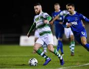 15 February 2019; Jack Byrne of Shamrock Rovers in action against Waterford during the SSE Airtricity League Premier Division match between Waterford and Shamrock Rovers at the RSC in Waterford. Photo by Matt Browne/Sportsfile