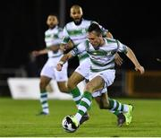 15 February 2019; Aaron McEneff of Shamrock Rovers during the SSE Airtricity League Premier Division match between Waterford and Shamrock Rovers at the RSC in Waterford. Photo by Matt Browne/Sportsfile