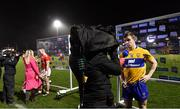 16 February 2019; Tony Kelly of Clare is interviewed by RTÉ Sport, as Patrick Horgan of Cork is interviewed by Eir Sport, after the Allianz Hurling League Division 1A Round 3 match between Cork and Clare at Páirc Uí Rinn in Cork. Photo by Piaras Ó Mídheach/Sportsfile