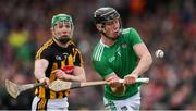 17 February 2019; Conor Boylan of Limerick scores a point as Paul Murphy of Kilkenny closes in during the Allianz Hurling League Division 1A Round 3 match between Kilkenny and Limerick at Nowlan Park in Kilkenny. Photo by Piaras Ó Mídheach/Sportsfile