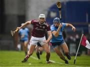 17 February 2019; Jason Flynn of Galway in action against Eoghan O'Donnell of Dublin during the Allianz Hurling League Division 1B Round 3 match between Galway v Dublin at Pearse Stadium in Salthill, Galway. Photo by Harry Murphy/Sportsfile