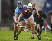 17 February 2019; Jason Flynn of Galway in action against Eoghan O'Donnell of Dublin during the Allianz Hurling League Division 1B Round 3 match between Galway and Dublin at Pearse Stadium in Salthill, Galway. Photo by Harry Murphy/Sportsfile