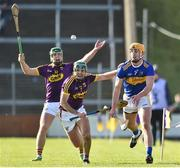 17 February 2019; Barry Heffernan of Tipperary in action against Shaun Murphy of Wexford during the Allianz Hurling League Division 1A Round 3 match between Wexford and Tipperary at Innovate Wexford Park in Wexford. Photo by Matt Browne/Sportsfile