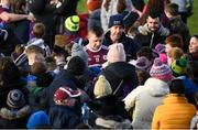 17 February 2019; Joe Canning of Galway signs autographs following the Allianz Hurling League Division 1B Round 3 match between Galway and Dublin at Pearse Stadium in Salthill, Galway. Photo by Harry Murphy/Sportsfile