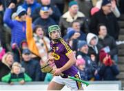 17 February 2019; Aidan Nolan of Wexford watches his winning score go over the bar against Tipperary during the Allianz Hurling League Division 1A Round 3 match between Wexford and Tipperary at Innovate Wexford Park in Wexford. Photo by Matt Browne/Sportsfile