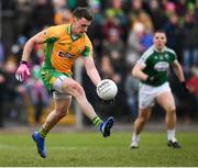 16 February 2019; Ronan Steede of Corofin during the AIB GAA Football All-Ireland Senior Championship Semi-Final match between Corofin, Galway, and Gaoth Dobhair, Donegal, at Avantcard Páirc Sean Mac Diarmada in Carrick-on-Shannon, Leitrim. Photo by Stephen McCarthy/Sportsfile