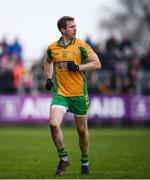 16 February 2019; Gary Sice of Corofin during the AIB GAA Football All-Ireland Senior Championship Semi-Final match between Corofin, Galway, and Gaoth Dobhair, Donegal, at Avantcard Páirc Sean Mac Diarmada in Carrick-on-Shannon, Leitrim. Photo by Stephen McCarthy/Sportsfile