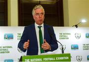 15 February 2019; FAI Chief Executive John Delaney in attendance at the Sligo launch of the National Football Exhibition at City Hall in Sligo. Photo by Peter Wilcock/Sportsfile