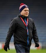 16 February 2019; Mullinalaghta St Columba's manager Mickey Graham prior to the AIB GAA Football All-Ireland Senior Club Championship Semi-Final match between Mullinalaghta St Columba's and Dr Crokes at Semple Stadium in Thurles, Tipperary. Photo by Seb Daly/Sportsfile
