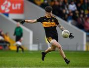 16 February 2019; Tony Brosnan of Dr Crokes kicks a point during the AIB GAA Football All-Ireland Senior Club Championship Semi-Final match between Mullinalaghta St Columba's and Dr Crokes at Semple Stadium in Thurles, Tipperary. Photo by Seb Daly/Sportsfile