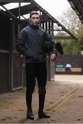 19 February 2019; Jockey Jack Kennedy during a Gordon Elliott yard visit at Gordon Elliott Racing in Longwood, Co Meath. Photo by Harry Murphy/Sportsfile