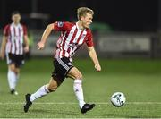 15 February 2019; Greg Sloggett of Derry City during the SSE Airtricity League Premier Division match between Derry City and UCD at the Ryan McBride Brandywell Stadium in Derry. Photo by Oliver McVeigh/Sportsfile