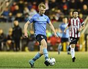 15 February 2019; Liam Scales of UCD during the SSE Airtricity League Premier Division match between Derry City and UCD at the Ryan McBride Brandywell Stadium in Derry. Photo by Oliver McVeigh/Sportsfile