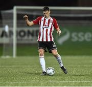 15 February 2019; Eoin Toal of Derry City during the SSE Airtricity League Premier Division match between Derry City and UCD at the Ryan McBride Brandywell Stadium in Derry. Photo by Oliver McVeigh/Sportsfile