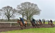 20 February 2019; Runners and riders during a visit to Willie Mullins' yard at Willie Mullins Racing in Bagenalstown, Carlow. Photo by Matt Browne/Sportsfile
