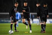 22 February 2019; Ali Reghba of Bohemians warms up prior to the SSE Airtricity League Premier Division match between UCD and Bohemians at the UCD Bowl in Dublin. Photo by Harry Murphy/Sportsfile