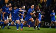22 February 2019; Noel Reid of Leinster on his way to scoring his side's first try during the Guinness PRO14 Round 16 match between Leinster and Southern Kings at the RDS Arena in Dublin. Photo by David Fitzgerald/Sportsfile