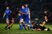22 February 2019; Jack Dunne of Leinster is tackled by Martinus Burger, right, and Alulutho Tshakweni of Southern Kings during the Guinness PRO14 Round 16 match between Leinster and Southern Kings at the RDS Arena in Dublin. Photo by David Fitzgerald/Sportsfile